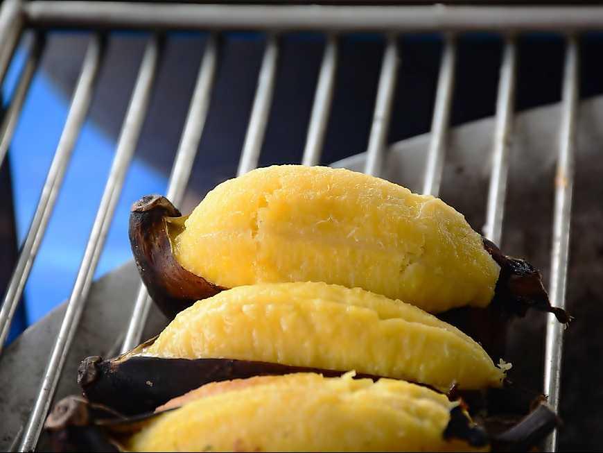 กล้วยหักมุกปิ้ง