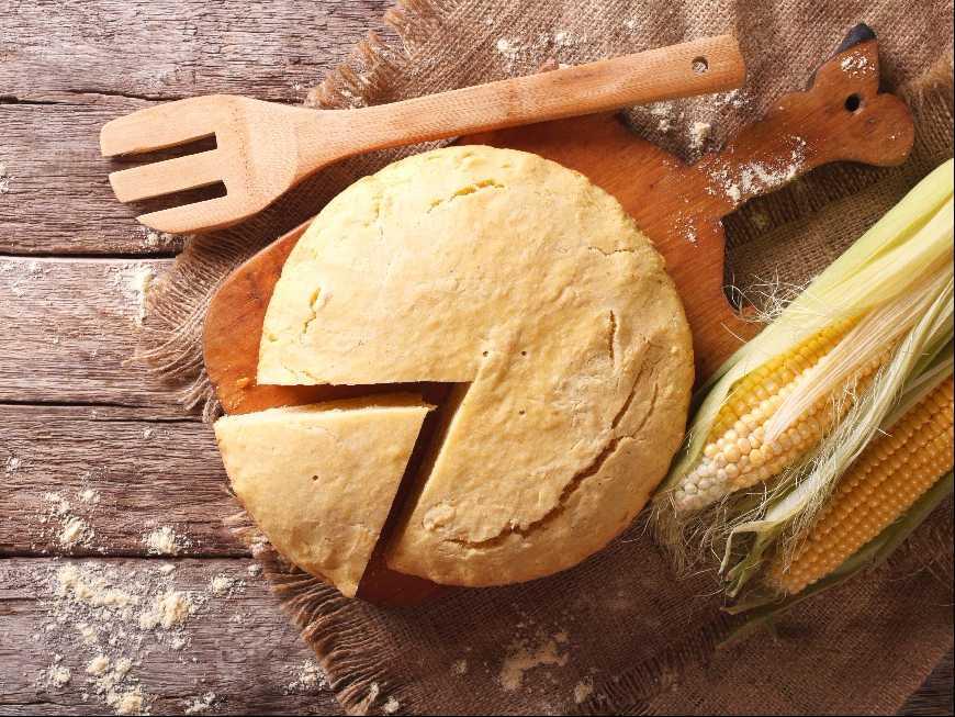 ขนมปังไส้ข้าวโพด