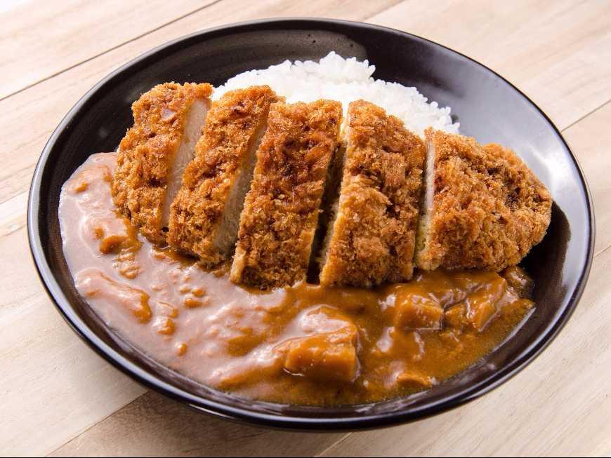 ข้าวแกงกะหรี่ไก่