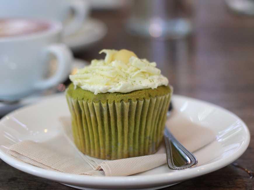 คัพเค้กชาเขียว