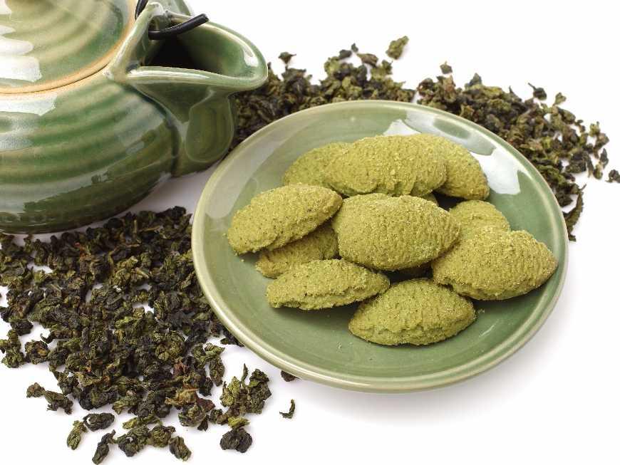 คุกกี้ชาเขียว