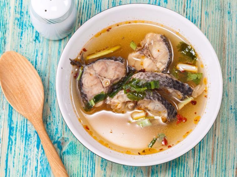 ต้มยำปลาทับทิม