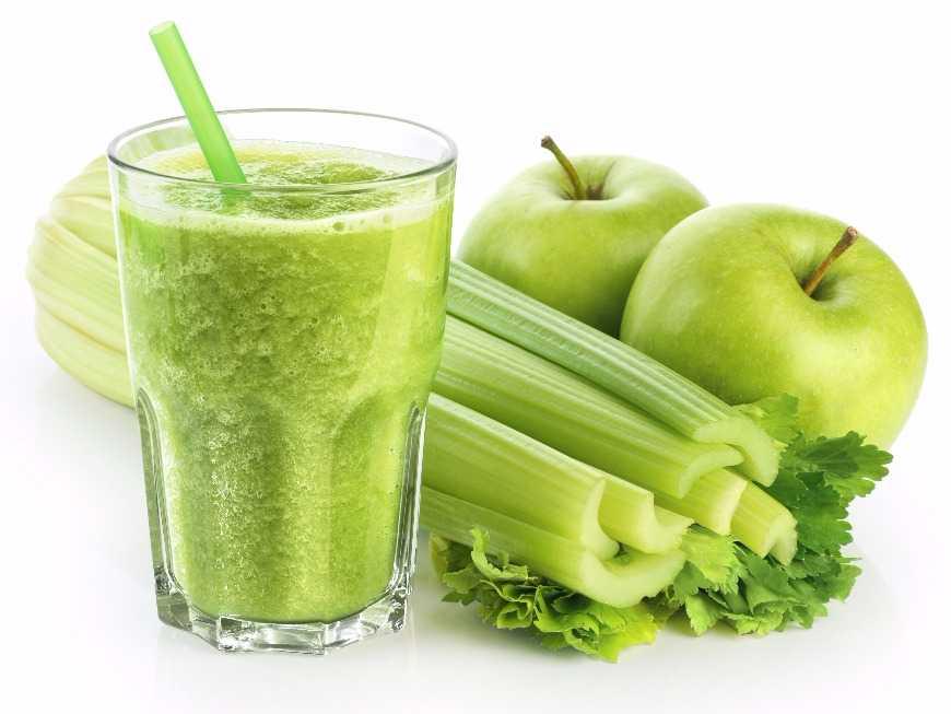 น้ำผักชีฝรั่งปั่น