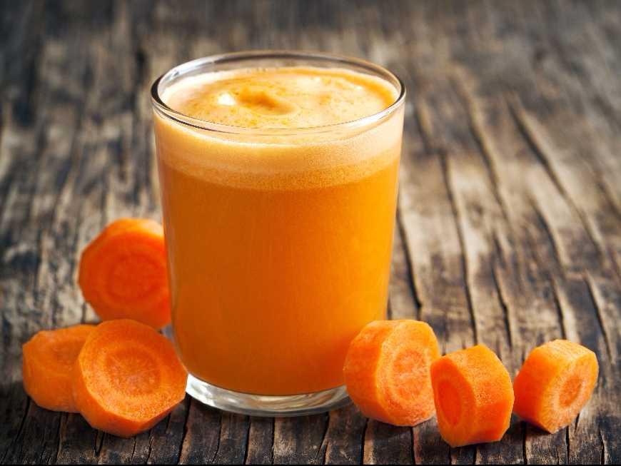น้ำแครอทปั่น