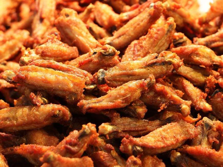 สูตร อาหาร ปีกไก่ทอดน้ำปลา ของ เมนู .net