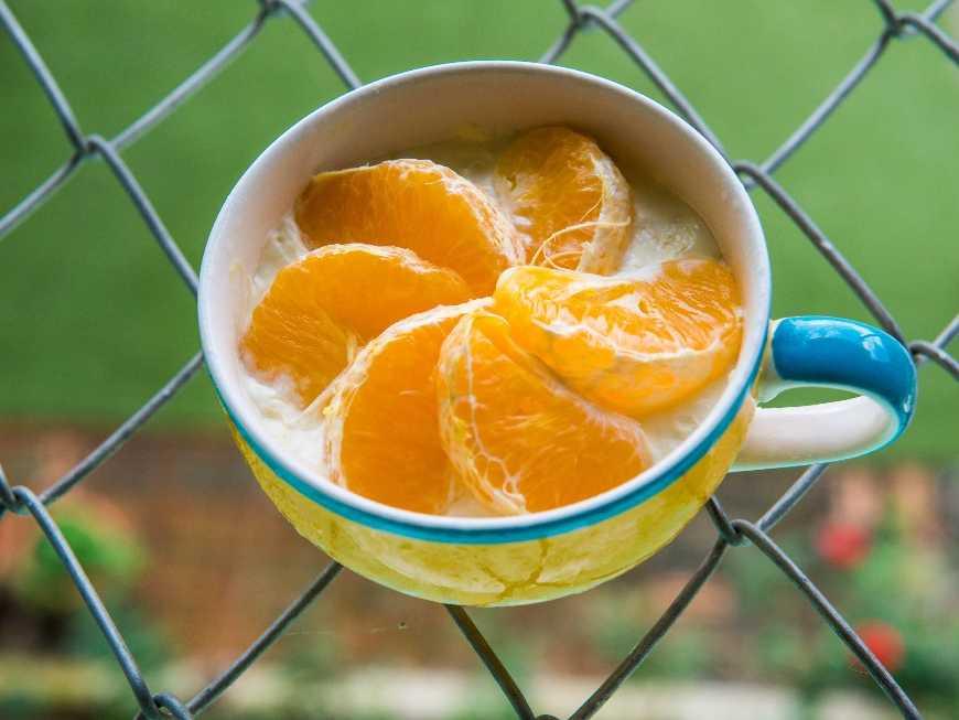 พุดดิ้งส้ม