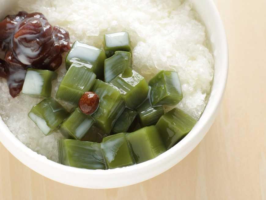 วุ้นชาเขียว สูตรญี่ปุ่น
