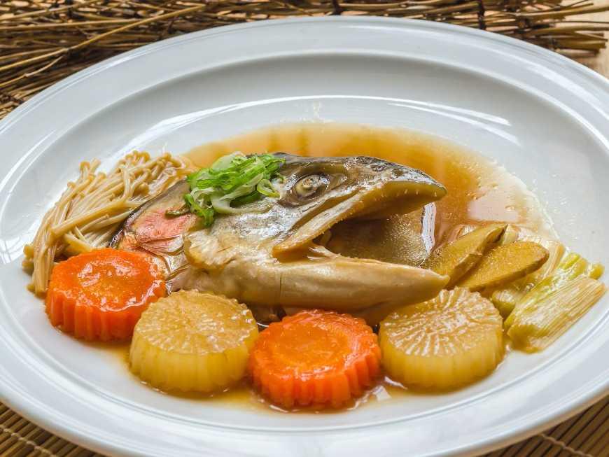 สูร อาหาร หัวปลาแลมอนนึ่ีอิ๊ว อ เมนู .net