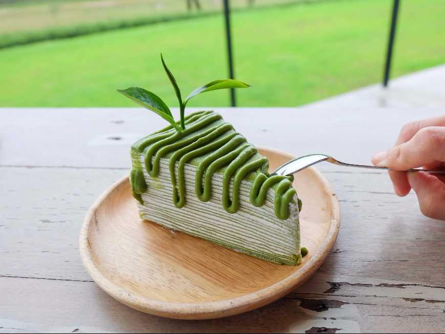 เครปเค้กชาเขียว