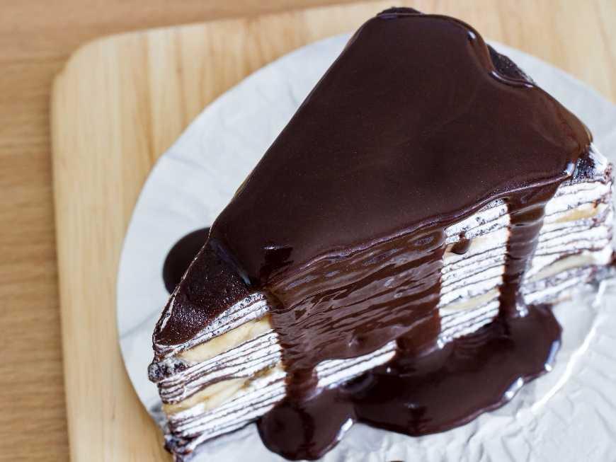 เครปเค้กช็อคโกแลต