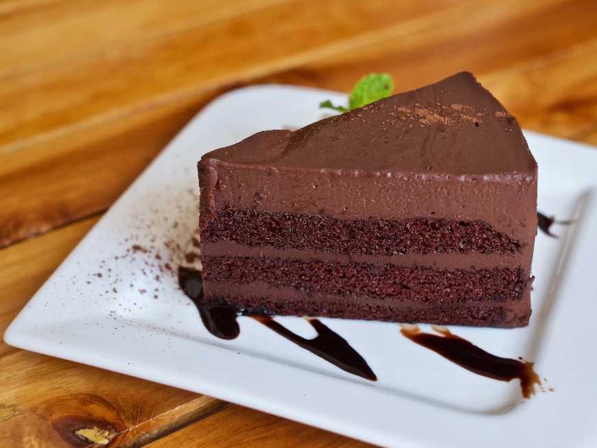 เค้กช็อกโกแลตหน้านิ่ม