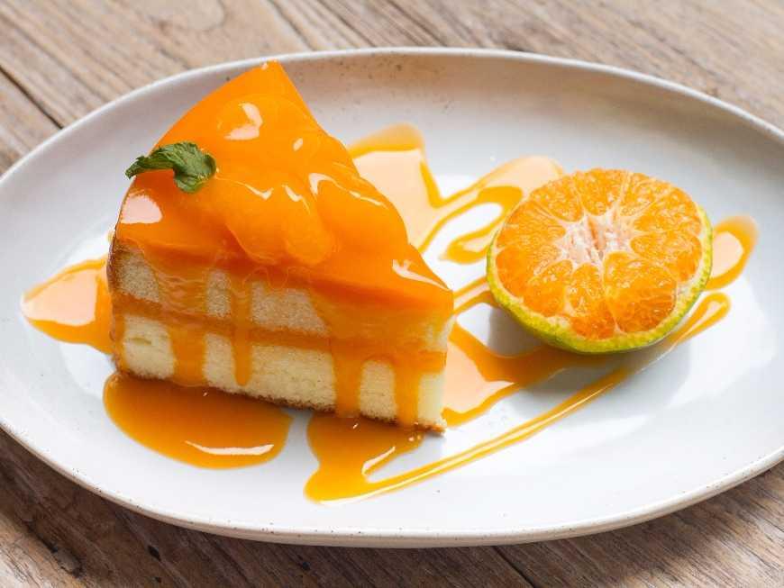 เค้กส้มสด