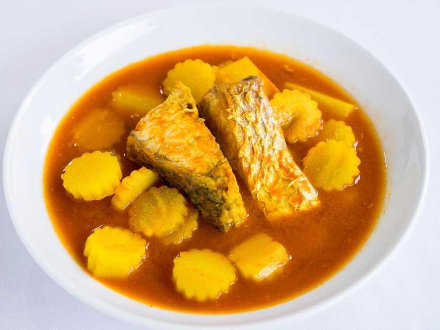 แกงส้มปลากระบอก