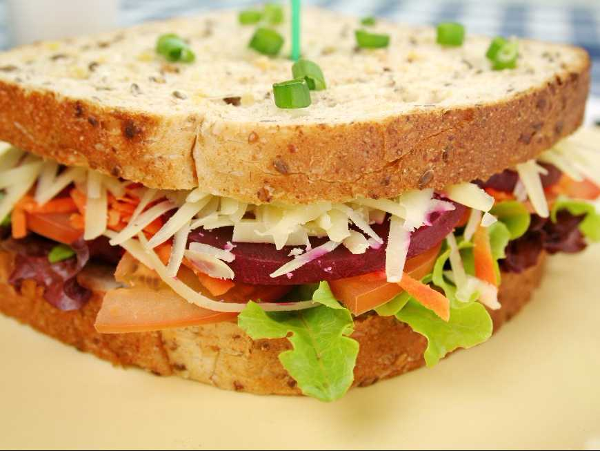 แซนด์วิชผัก