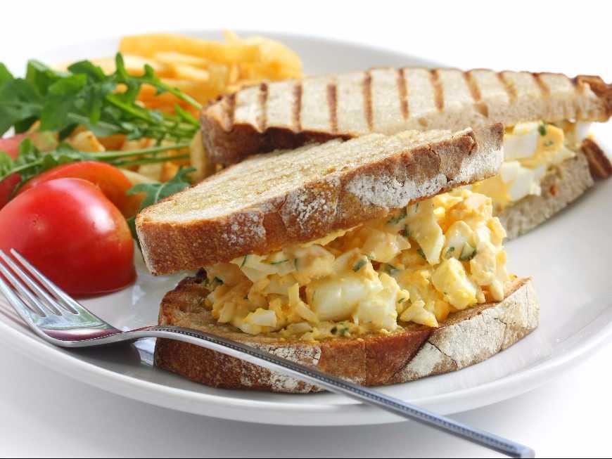 แซนด์วิชสเปรดไข่ต้ม