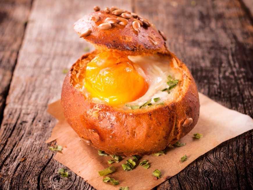 ไข่อบขนมปัง