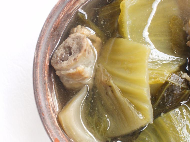 ต้มผักกาดดองกระดูกหมู