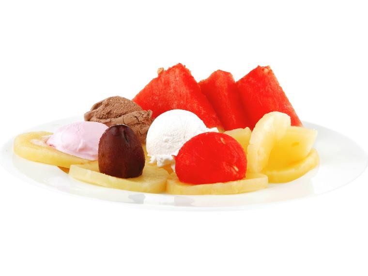 ไอศครีมผลไม้