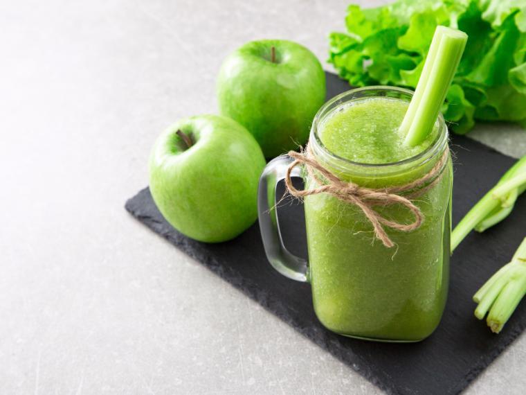 น้ำแอปเปิ้ลปั่น